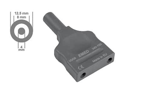 Adapter bipolarny do gniazd ERBE 4 mm