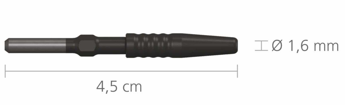 293-6 Adapter do uchwytu 4 mm • Do elektrod: 1,6 mm