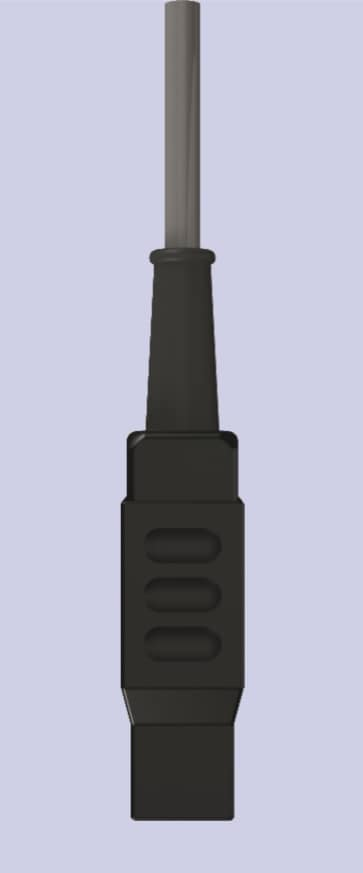 92021Kabel pensety bipolarnej, z 2 wtykami 4mm, 3