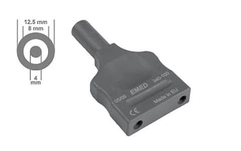 Adapter bipolarny do gniazd ERBE 4 mm