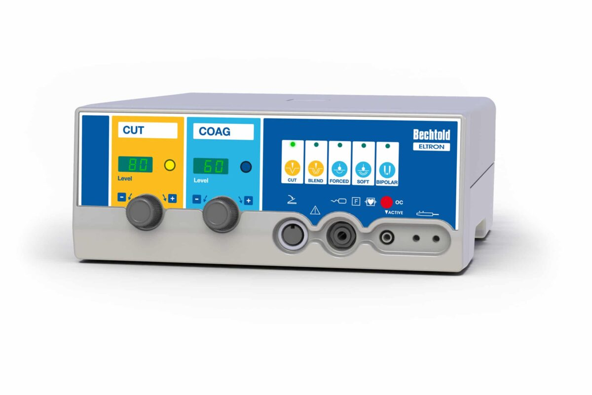 Aparat elektrochirurgiczny ELTRON 80 • Wyposażenie: