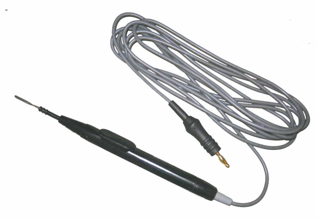 Uchwyt elektrod 2,4mm bez przyc, kabel 3 m